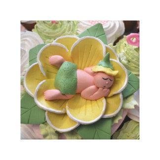 canvas do bebê do sono