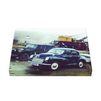 Canvas do carro impressão em tela