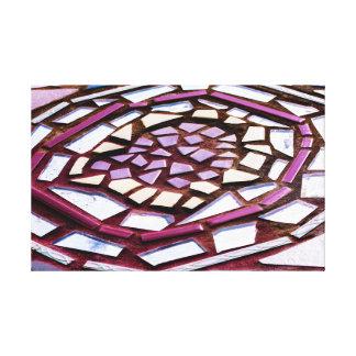 Canvas do círculo do mosaico