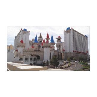 Canvas do hotel & do casino de Excalibur