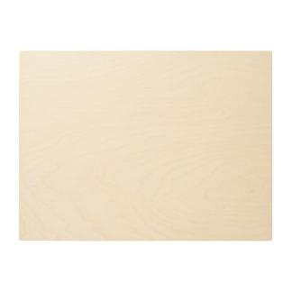 Canvas feitas sob encomenda da madeira 24x18 tela de madeira
