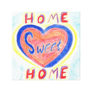 Canvas Home doces Home