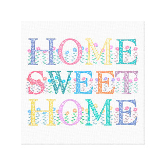 "Canvas ""Home"" doces Home 12"" X12 """