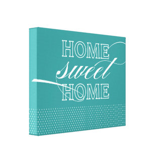 Canvas Home doces Home modernas da decoração da