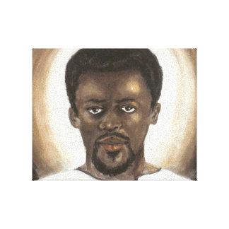 Canvas pretas de Jesus Impressão Em Canvas