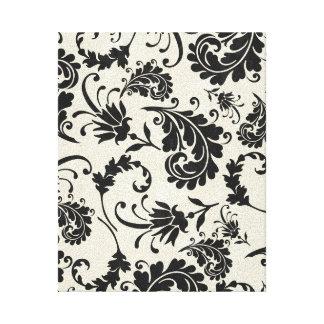 canvas preto e branco impressão de canvas envolvidas