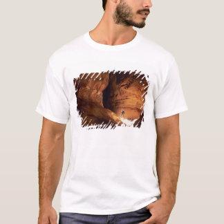 Canyoneer iluminou nas profundidades de um t-shirts