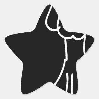 Cão animal abstrato do Doodle Adesivos