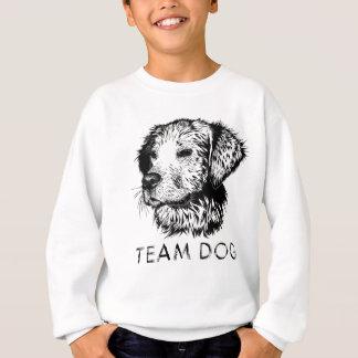 Cão da equipe t-shirt
