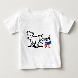 Cão de Democrata T-shirt