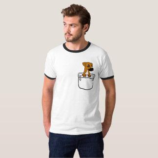 Cão de filhote de cachorro bonito engraçado da tshirts