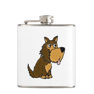 Cão de filhote de cachorro engraçado do yorkshire