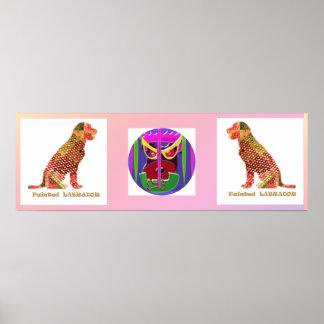 Cão de LABRADOR Animal majestoso elegante Pôsteres