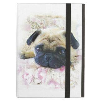 Cão do Pug Capa Para iPad Air