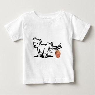 Cão do trunfo camiseta para bebê