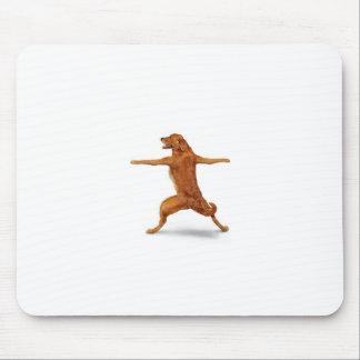 Cão engraçado mouse pad
