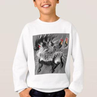 Cão pequeno abstrato t-shirt