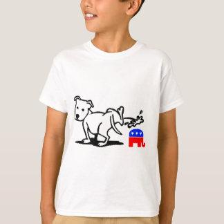 Cão republicano camisetas