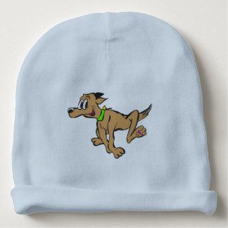 Cão Running feliz Beannie customizável Gorro Para Bebê