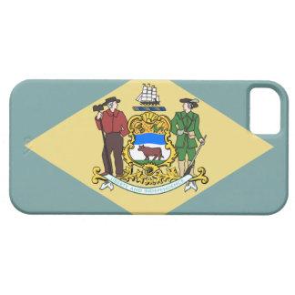 Capa Barely There Para iPhone 5 Bandeira de Delaware