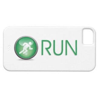 Capa Barely There Para iPhone 5 Caso do iPhone 5 do Natação-Bicicleta-Run do