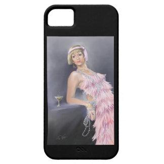 Capa Barely There Para iPhone 5 Caso do liPhone 5 do Flapper da primavera mal lá