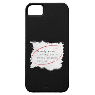 Capa Barely There Para iPhone 5 Caso só que procura um amigo - anúncio