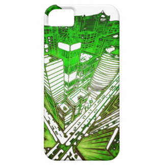 Capa Barely There Para iPhone 5 city em 3 point version perspective special green