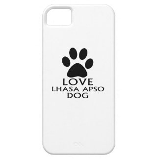 CAPA BARELY THERE PARA iPhone 5 DESIGN DO CÃO DE LHASA APSO DO AMOR