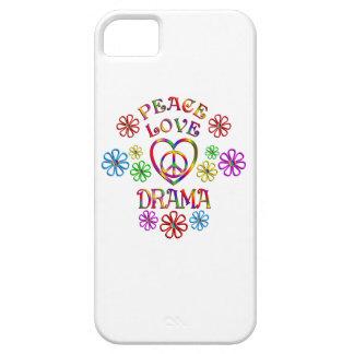 Capa Barely There Para iPhone 5 Drama do amor da paz