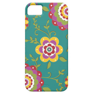 Capa Barely There Para iPhone 5 Estampa Floral