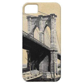 Capa Barely There Para iPhone 5 Ferryboats 1896 da ponte de Brooklyn