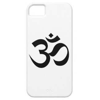 Capa Barely There Para iPhone 5 Mantra sagrado do símbolo da religião de Dharmic