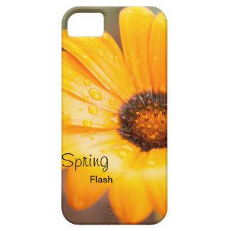 Capa Barely There Para iPhone 5 Margarida africana do flash alaranjado do