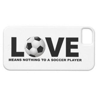Capa Barely There Para iPhone 5 O amor não significa nada a um iPhone 5 do jogador