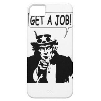 Capa Barely There Para iPhone 5 O tio Sam obtem um trabalho