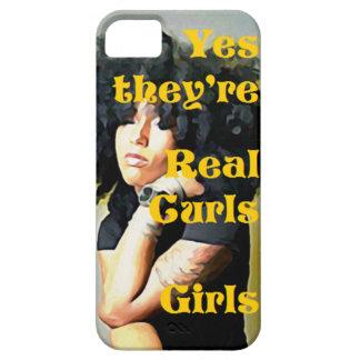 Capa Barely There Para iPhone 5 Sim são meninas reais das ondas - caso do iPhone 5