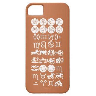 Capa Barely There Para iPhone 5 Símbolo da astrologia do zodíaco: Encanto de