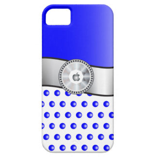 Capa Barely There Para iPhone 5 Sparkles azuis