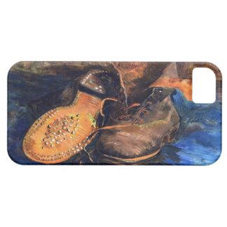 Capa Barely There Para iPhone 5 Um par de sapatos por Vincent van Gogh 1887