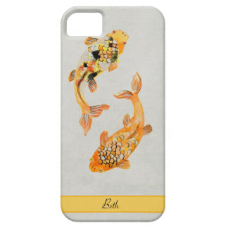 Capa Barely There Para iPhone 5 Vintage Koi