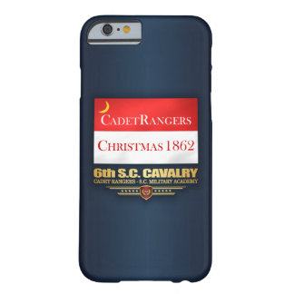 Capa Barely There Para iPhone 6 6o Cavalaria do SC (guardas florestais do cadete)