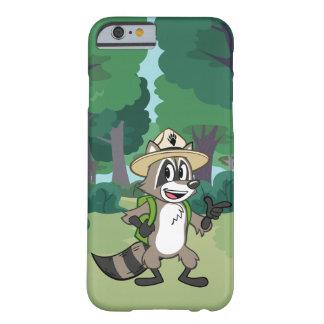 Capa Barely There Para iPhone 6 Apontar do rick da guarda florestal do rick | da