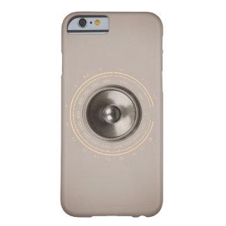 Capa Barely There Para iPhone 6 Auto-falante da música e seletor de rádio retro