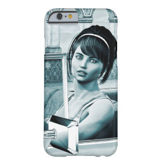 Capa Barely There Para iPhone 6 Azul do vintage
