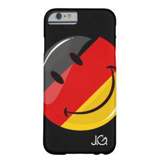 Capa Barely There Para iPhone 6 Bandeira alemão de sorriso