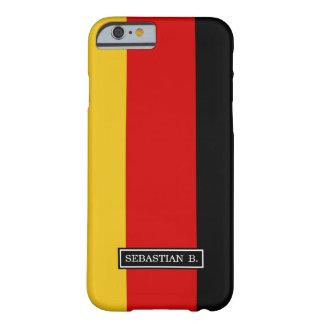 Capa Barely There Para iPhone 6 Bandeira de Alemanha