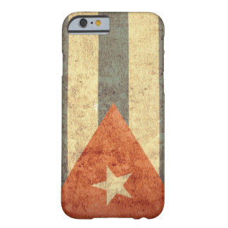 Capa Barely There Para iPhone 6 Bandeira de Cuba - Grunge