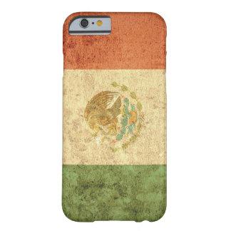 Capa Barely There Para iPhone 6 Bandeira de México - Grunge