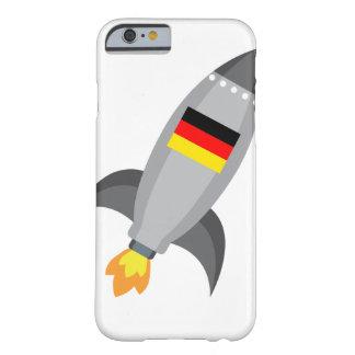 Capa Barely There Para iPhone 6 Bandeira Rocket de Alemanha